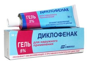 Диклофенак для лечения остеохондроза