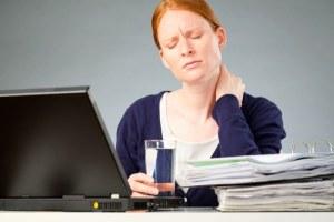 Офисная работа и боли в шее