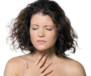 Усложнение дыхания