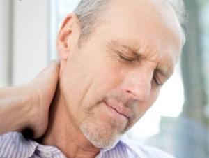 Боли в области шейных позвонков
