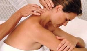 Точечный массаж при шейном остеохондрозе