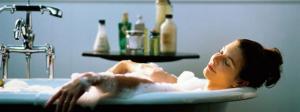 Горячая ванна при боли в спине